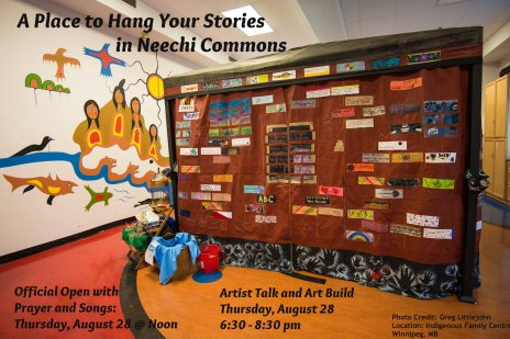 Neechi Commons Art Talk