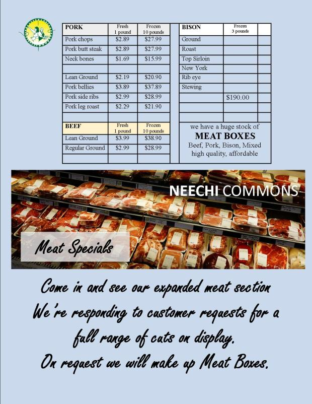 Meat Specials Jan 15