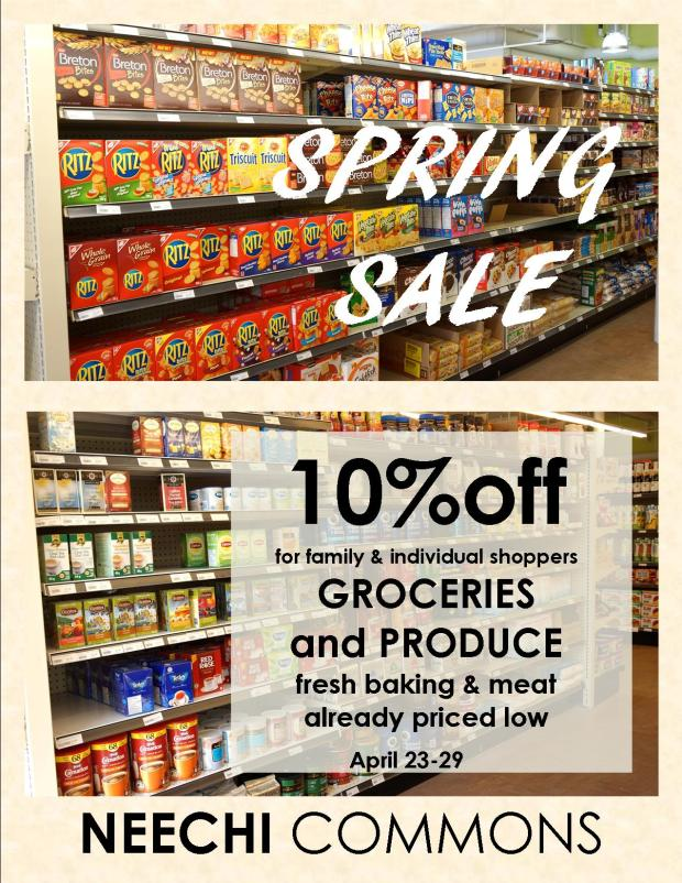 Spring Sale poster 1