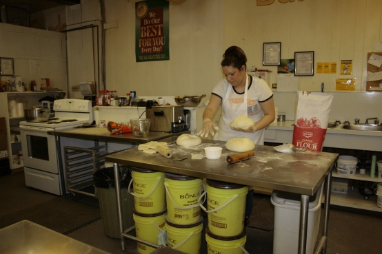 20110406 - shaping bannock dough.JPG